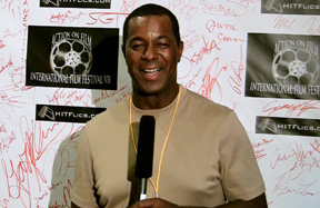 Dwight Hicks at Action on Film Film Festival