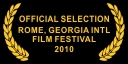 Official Selection Rome Georgia Int'l Film Festival 2010